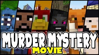 MURDER MYSTERY MOVIE COMPILATION !! 🔴LIVE - Can you guess the murderer ?? - Minecraft