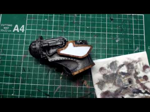 How to paint Lucius-Alpha pattern Warlord Titan Head