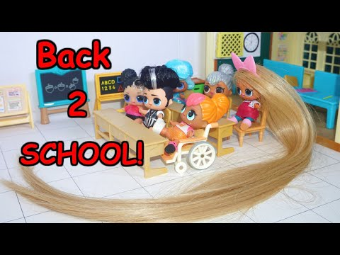 LOL SURPRISE DOLLS First Day Of School !!