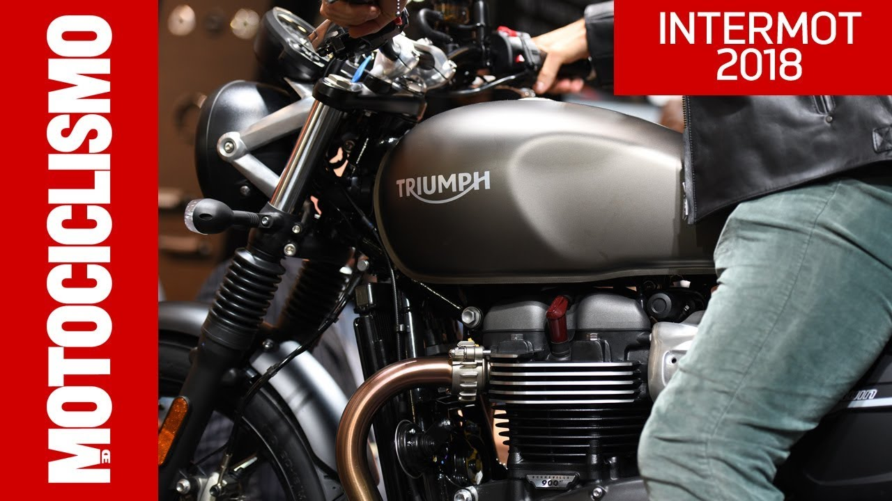 triumph street twin e street scrambler 2019 intermot. Black Bedroom Furniture Sets. Home Design Ideas