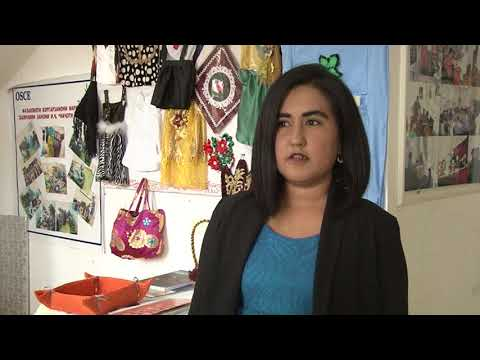 "TV Safina: Project ""Engaging Young Women in Art"" in Tajikistan"