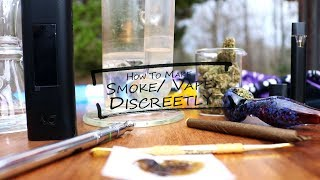 How to Smoke/ Vape Cannabis Discreetly (Worst to Best Methods): Cannabasics #84