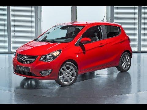 Opel Karl (2015) - Erste Sitzprobe