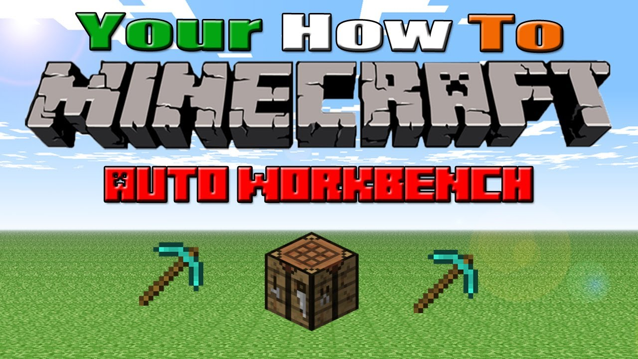 how to make a workbench minecraft
