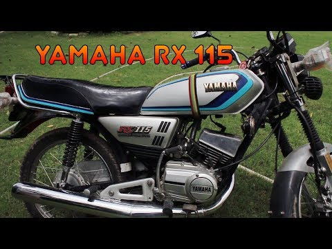 Yamaha Rx115 Restored By Naveed Youtube