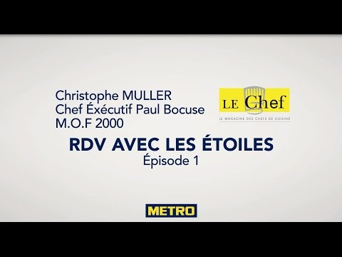 Christophe MULLER Chef executif Paul Bocuse