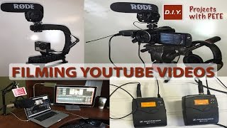 VLOG 1: The Camera Equipment Used for Filming Project Videos