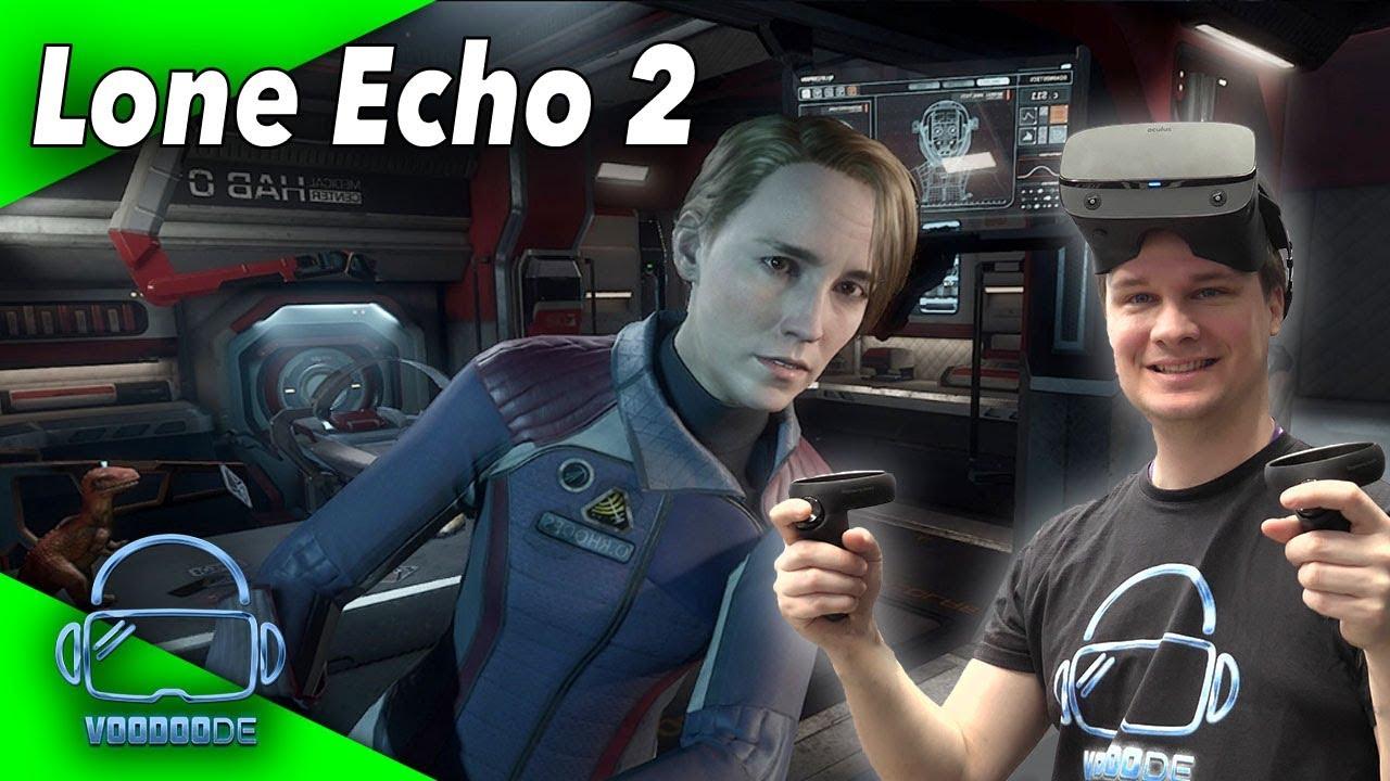 Lone Echo 2 - Oculus Rift S gameplay [Virtual Reality]