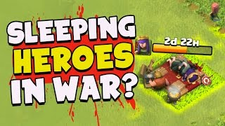 "Clash of Clans: ""HERO UPGRADING IN WAR? NO PROBLEM!"" 