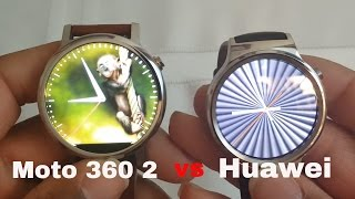 Huawei Watch vs Moto 360 2(Huawei Watch vs Moto 360 2. (Google watches)Two of the best looking Smartwatches on the market. Let me know which one you think sits at the top of the food ..., 2016-03-23T23:41:45.000Z)