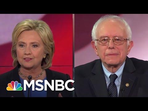 Hillary Clinton and Bernie Sanders Spar On Health Care   MSNBC
