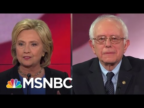 Hillary Clinton and Bernie Sanders Spar On Health Care | MSNBC