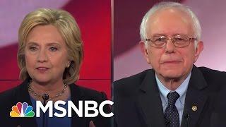 Hillary Clinton and Bernie Sanders Spar On Health Care | MSNBC