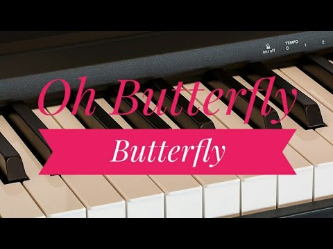 O Butterfly Butterfl ♫ | Tamil Super Hit Song Notes | Piano 4 U ♫ Cover