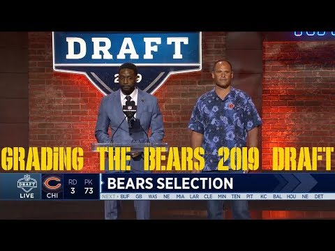 Bears 2019 Draft Grade