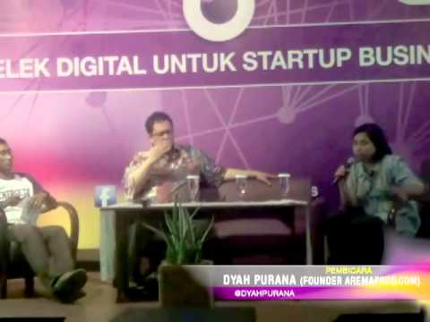 Melek Digital untuk StartUp Business at Malang
