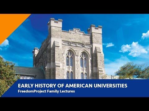 Part II: Early History of American Universities  | Dr. Duke Pesta