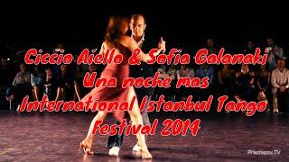 Ciccio Aiello & Sofia Galanaki, 1-3, International Istanbul Tango Festival 2014