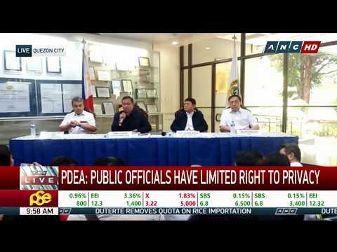 WATCH: PDEA speaks on President Duterte's drug list | 30 April 2018