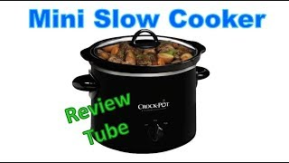 Classic Mini Crock Pot (2 Quart) Slow Cooker SCR200-B