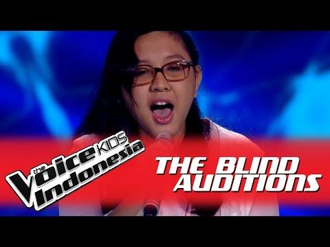 """Clarissa """"Titanium"""" I The Blind Auditions I The Voice Kids Indonesia 2016"""