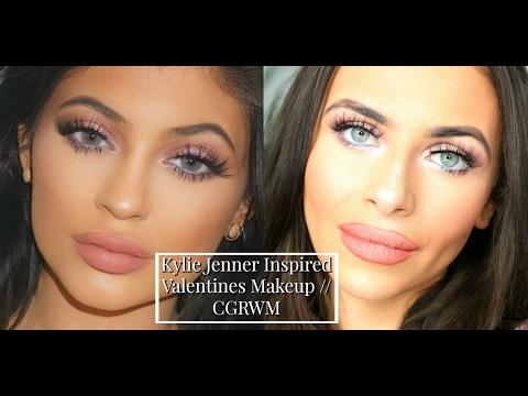 Kylie Jenner Inspired Valentines Makeup | CGRWM | Imogenation
