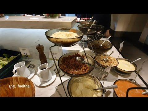บุฟเฟ่ต์นานาชาติโรงแรมมิราเคิลแกรนด์ ของกินเยอะ มีอาหารทะเลเมี่ยงคำ ผลไม้ดองด้วย