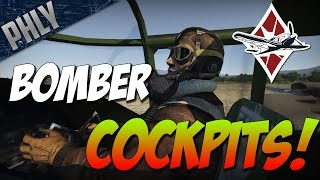 War Thunder - BOMBER COCKPITS! War Thunder B-25 Gameplay