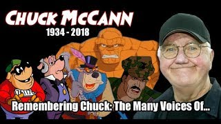 Chuck McCann TRIBUTE - In Memoriam (The Many Voices / Characters of...)