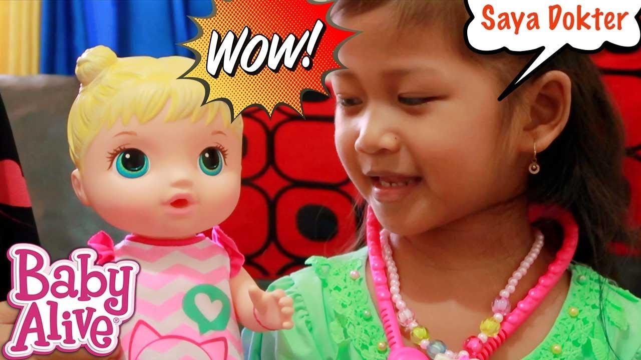 Baby Alive.🌟 Unboxing Mainan Anak Perempuan Boneka Bayi Lucu Bisa  Kencing💖 Drama Anak Lucu 5fec765416