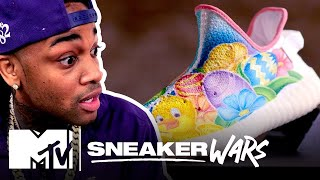 Custom Yeezy 'The Fabergé of Shoes' Easter Challenge | MTV Sneaker Wars