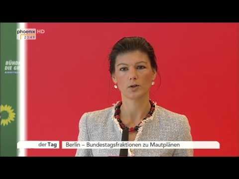 PKW-Maut: Kritik von Thomas Oppermann, Sahra Wagenknecht & Anton Hofreiter am 02.12.2014 thumbnail