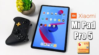 The All-New Xiaomi Mi Pad 5 PRO Is an Amazing Tablet!