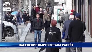 Численность постоянного населения Кыргызстана растёт