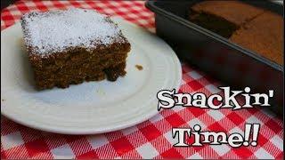 Applesauce Snack Cake ~ Homemade Applesauce Cake Recipe ~ Back to School ~ Noreen's Kitchen