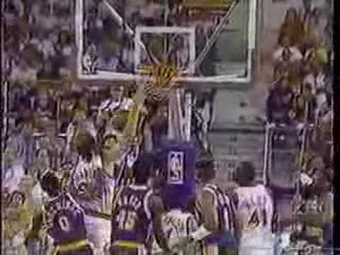 NBA Dunk - Tom Chambers vs. Lakers