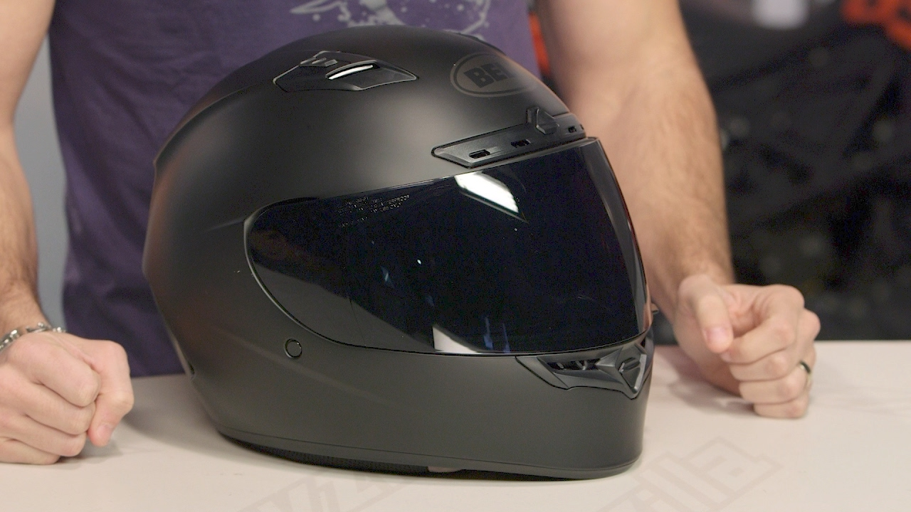 a75fe79e Bell Qualifier DLX Blackout Helmet Review at RevZilla.com - YouTube