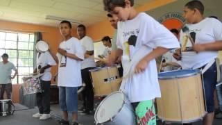 Percussão  - Escola Estadual de Ensino Fundamental Dr. Franklin Olive Leite