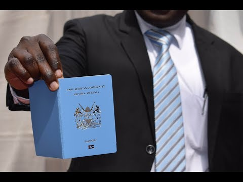Kenya launches e-passport ahead of December 2018 EAC target
