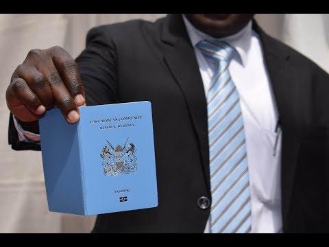 Kenya launches e-passport ahead of December 2018 EAC target