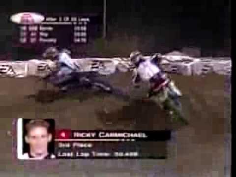 2001 Las Vegas 250cc Main (Jeremy McGrath Vs. Ricky Carmichael)