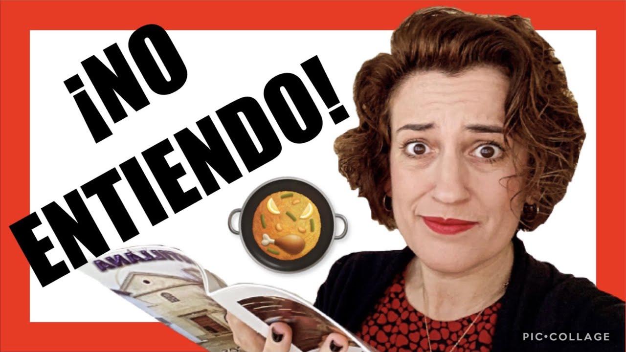 🇪🇸¿Cuál es la COMIDA que se come en ESPAÑA? 🍤🍗(INTERPRETANDO el MENÚ o la CARTA en español) 💃🏻