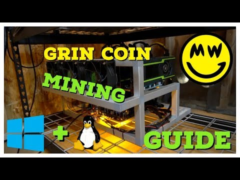 How To Mine Grin Coin | Windows & Linux Mining Guide + What