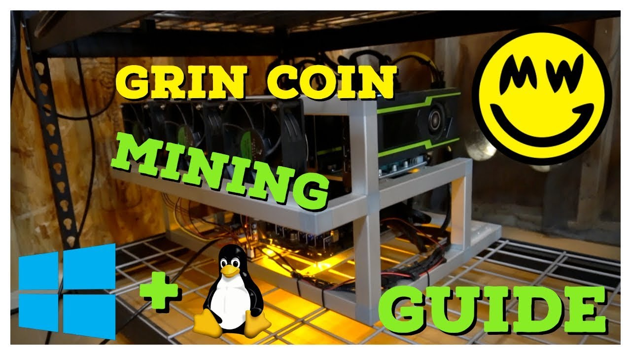 How To Mine Grin Coin | Windows & Linux Mining Guide + What is GrinCoin  anyway?