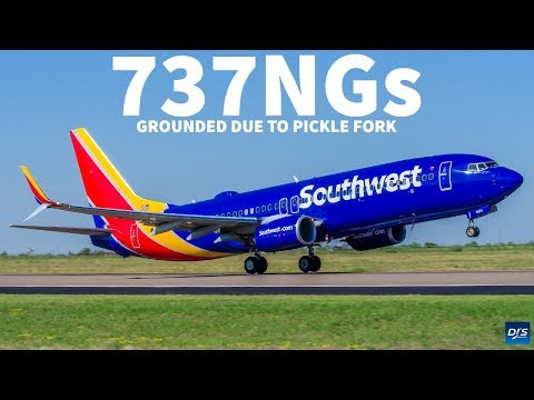 Boeing 737s Grounded