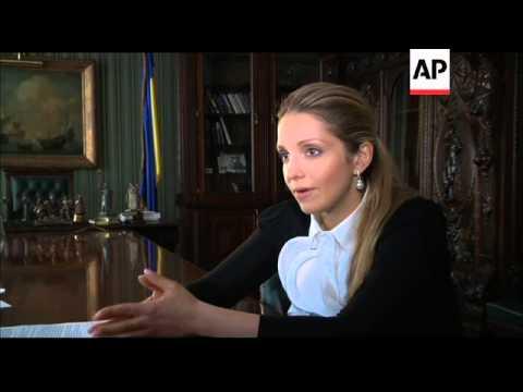 Interview with daughter of jailed opposition leader Yulia Tymoshenko
