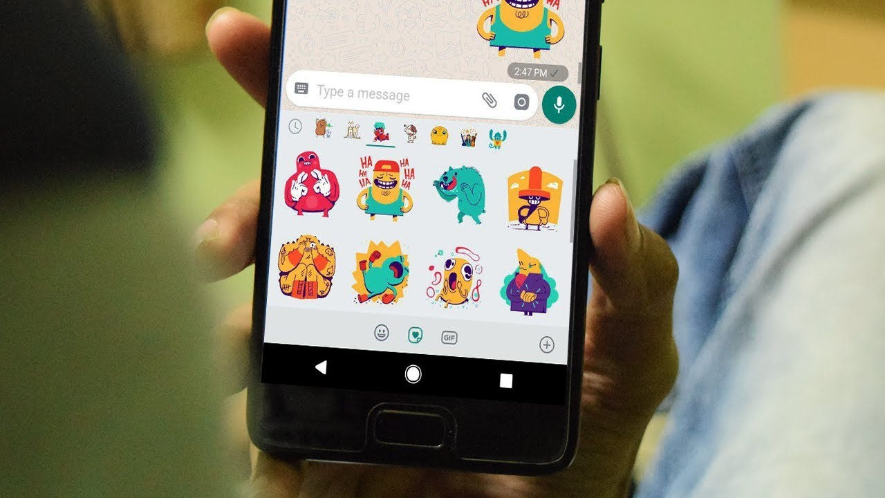 How To Get Whatsapp Stickers Feature In Any Android