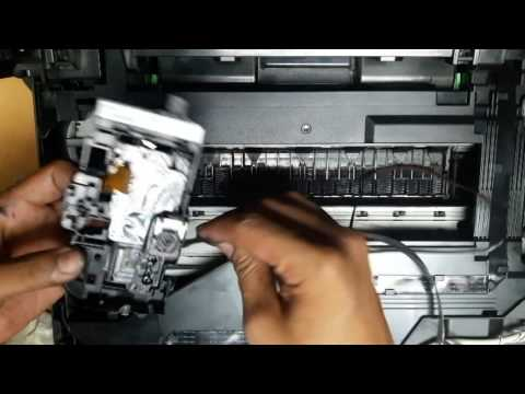 How to replace brother printhead