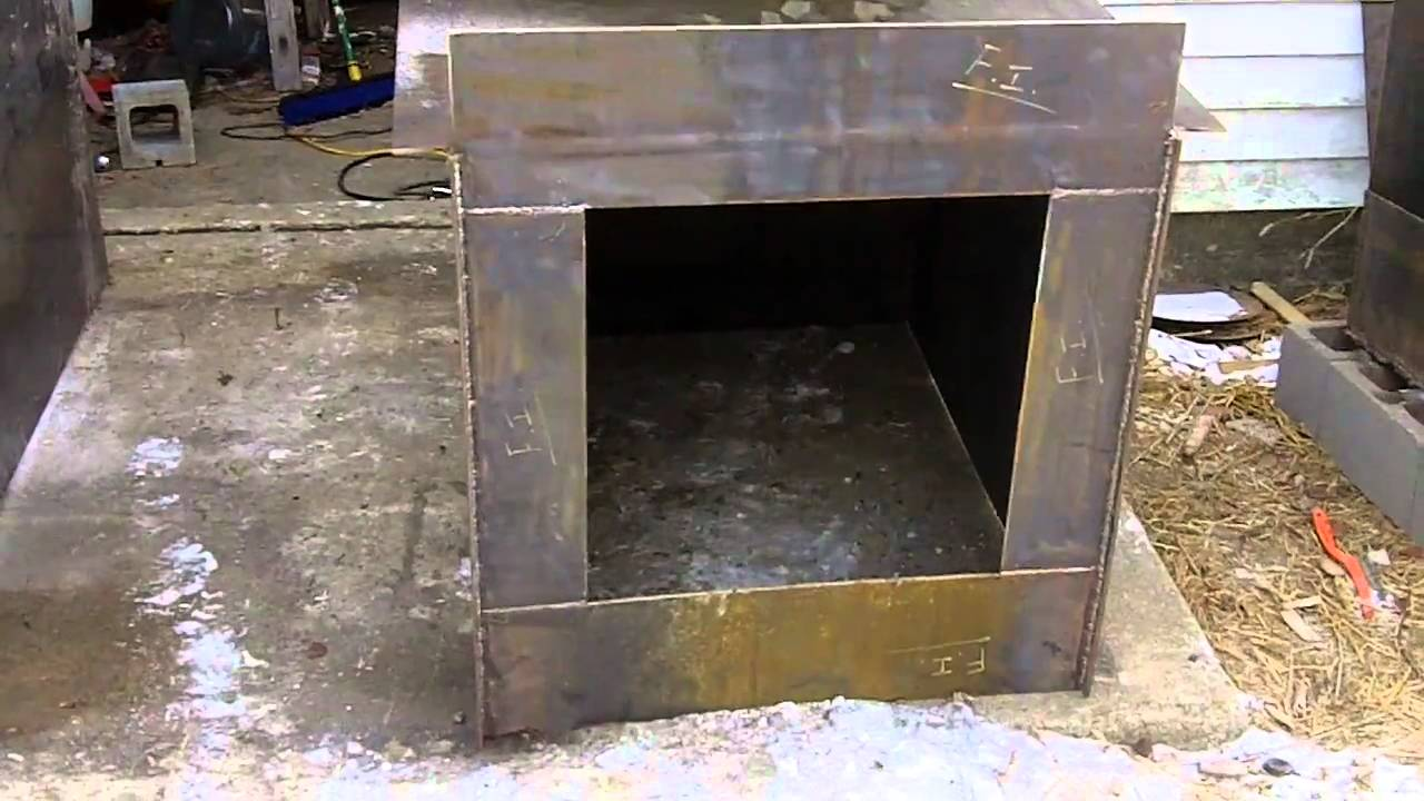 2 DIY Outdoor Wood Burner Boiler (Hydronic Wood burning stove ...