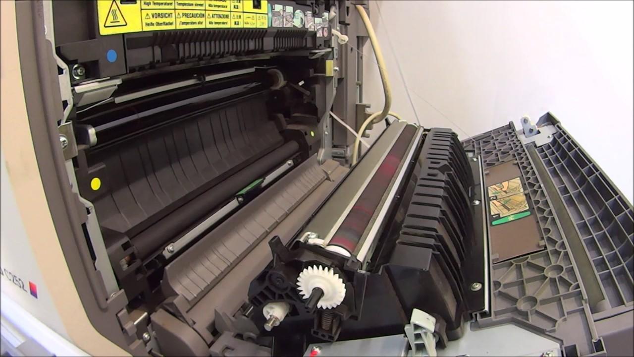 KONICA MINOLTA Bizhub c252 c250 Transfer Roller cleaning